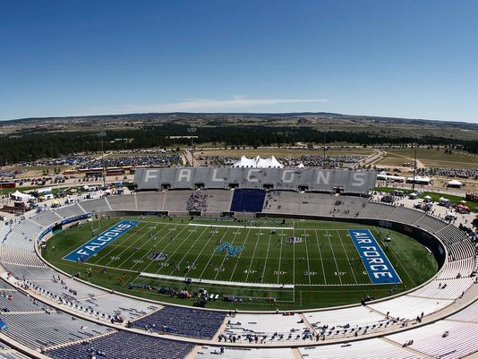 Falcon Stadium Us Air Force Academy Air Force Academy U S Air Force Academy United States Air Force Academy