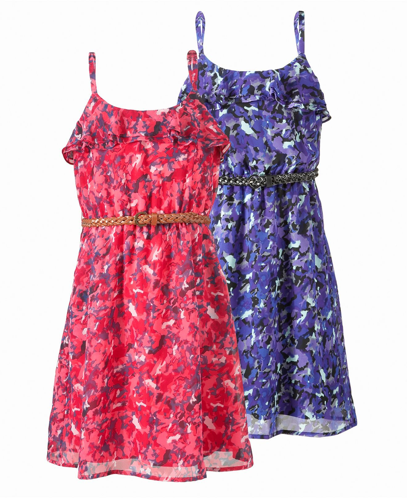 Epic Threads Kids Dress, Girls Belted Dress - Kids Dresses - Macy\'s ...