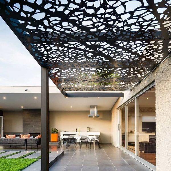 porch canopy design ideas pergola canopy ideas patio deck - Stone Slab Canopy Decoration