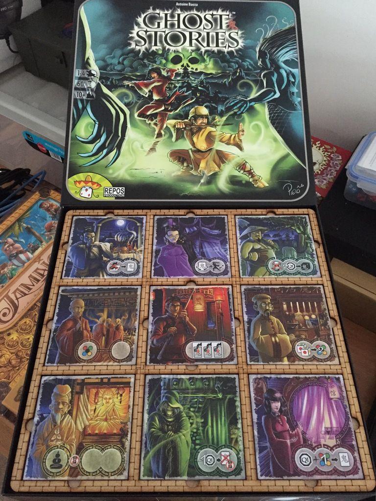 Ghost Stories - Village Tile Game Board   Tabletop / Board
