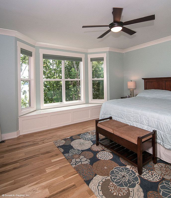 Plan 734 D The Gilchrist Master Bedroom Window Seat Master Bedroom Window And Bedrooms