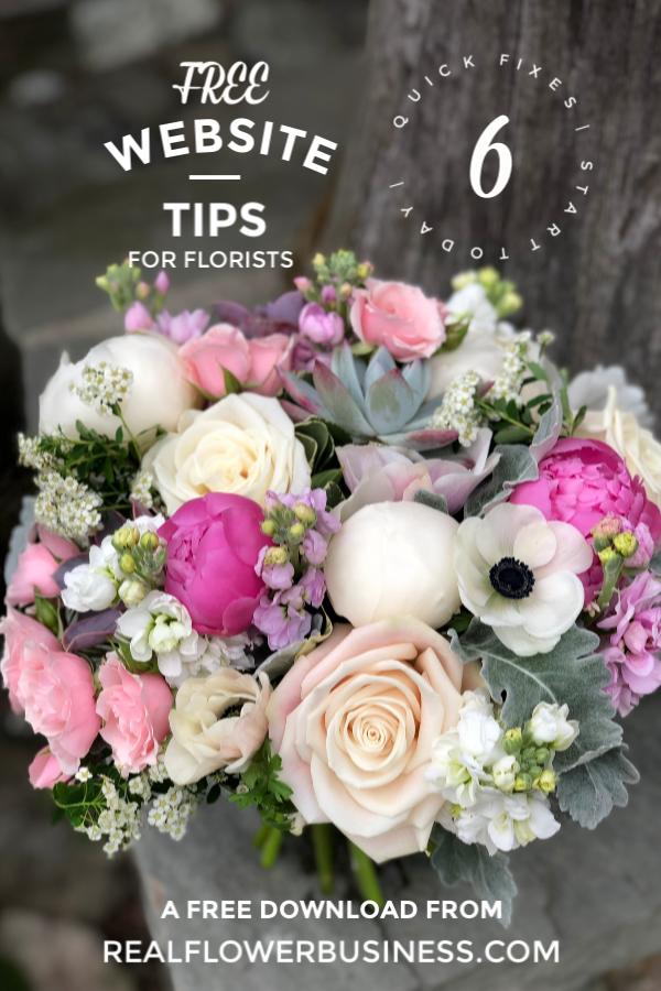 Website Tips In 2020 Floral Design Business Flower Business Florist