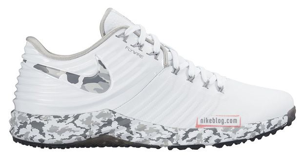 Nike Lunar Trout 2 Turf | White & Grey