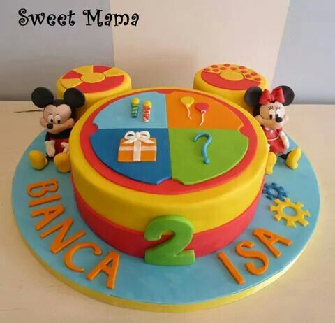 Outstanding Toodles Cake Twodles Birthday Mickey Birthday Mickey Cakes Funny Birthday Cards Online Alyptdamsfinfo
