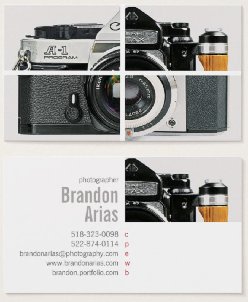 Pin By Paria Didehban On Photography Business Cards Pinterest