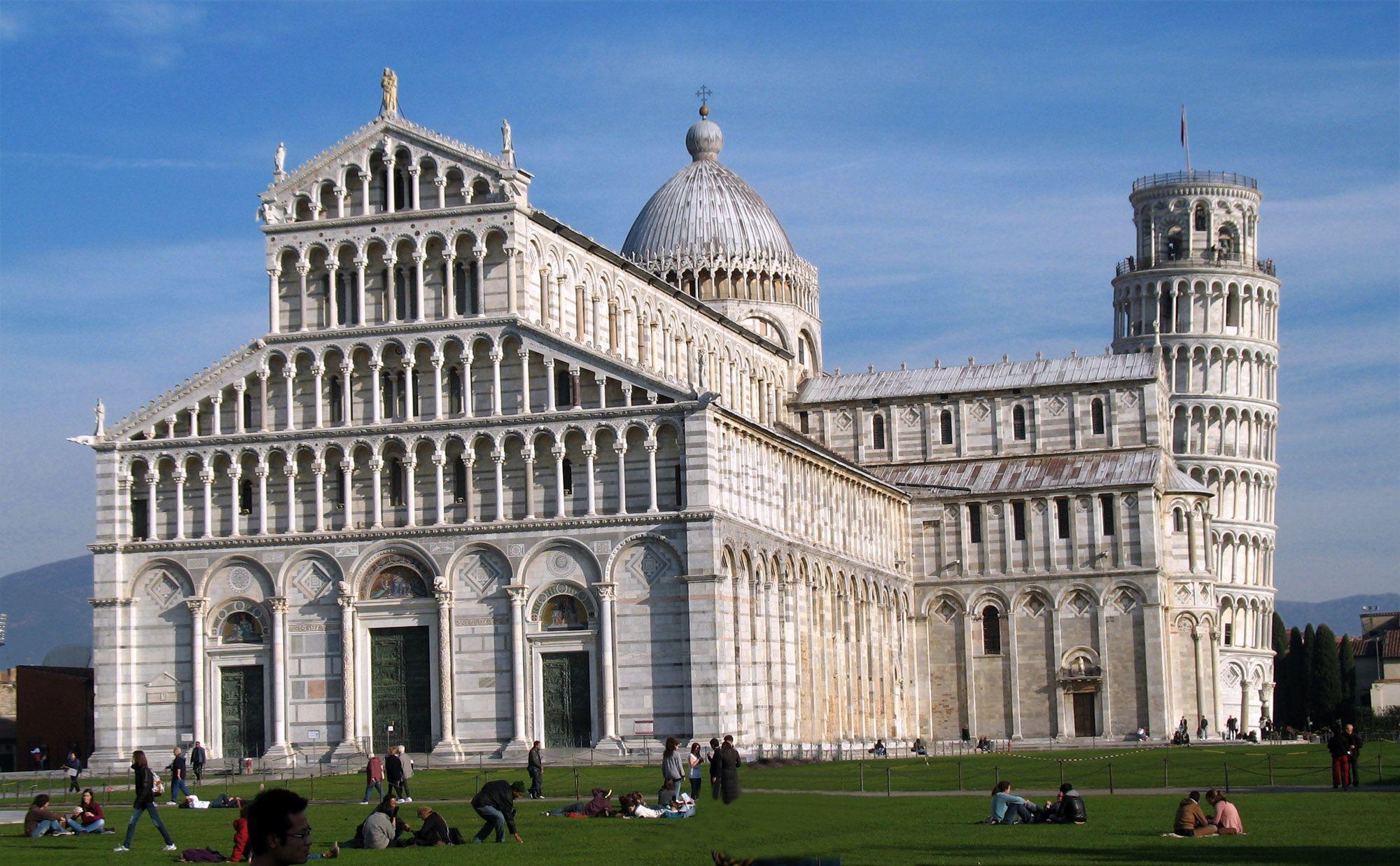 Resultado de imagem para Catedral de Pisa