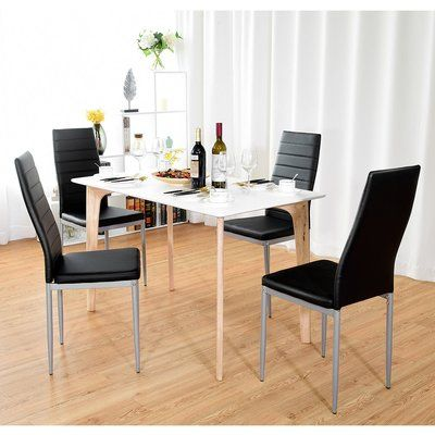 Orren Ellis Giblin Elegant Upholstered Dining Chair ...