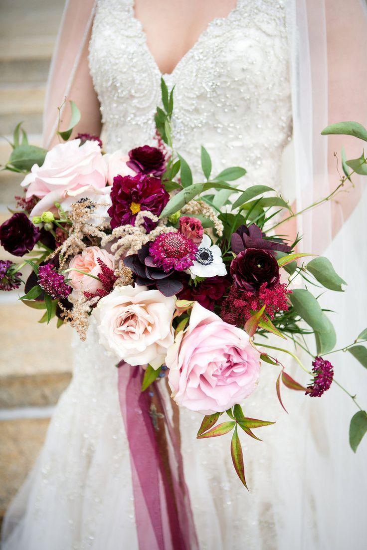 kansas city wedding | our work | blue bouquet | blush fall