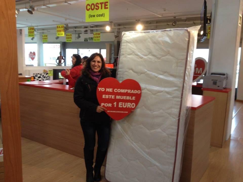Colchones a un euro en la tienda de muebles boom de vitoria gasteiz muebles a 1 euro en - Muebles boom 1 euro ...