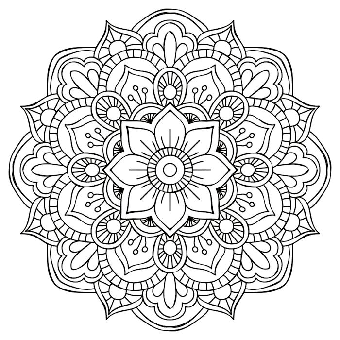 1001 Coole Mandalas Zum Ausdrucken Und Ausmalen Ausdrucken Ausmalen Coole Mandalas Und Zum In 2020 Mandala Doodle Flower Mandala Mandala Coloring Pages