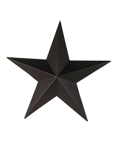 Loving this Black Tin Star Wall Décor - Set of Four on #zulily ...