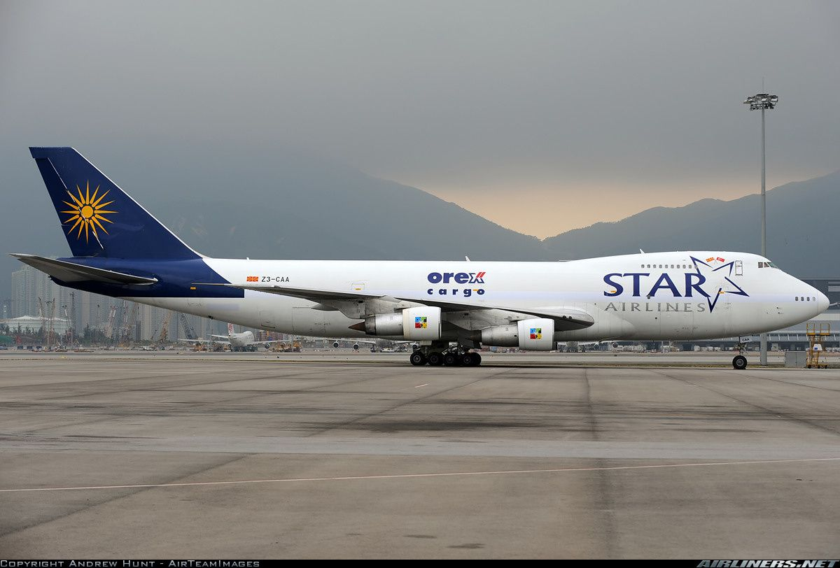 Star Airlines Orex Cargo Z3 CAA Boeing 747 2U3BSF Aircraft Picture