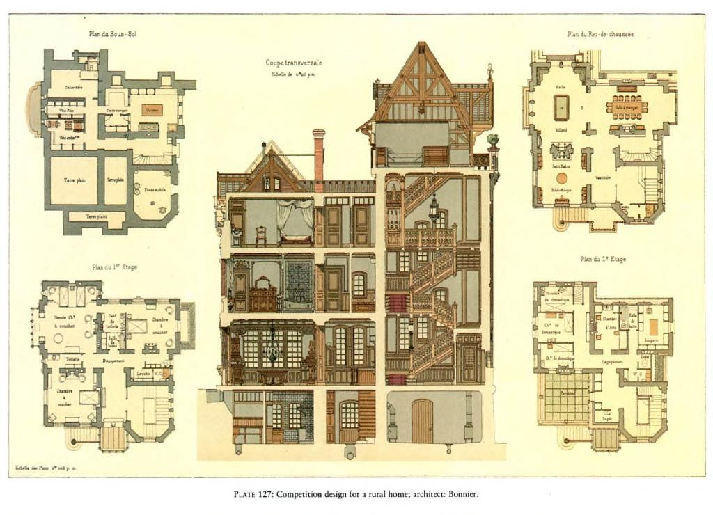 Details Of Victorian Architecture Free Download Borrow And Streaming Internet Archive Victorian House Plans House Plans Uk Old Victorian Homes