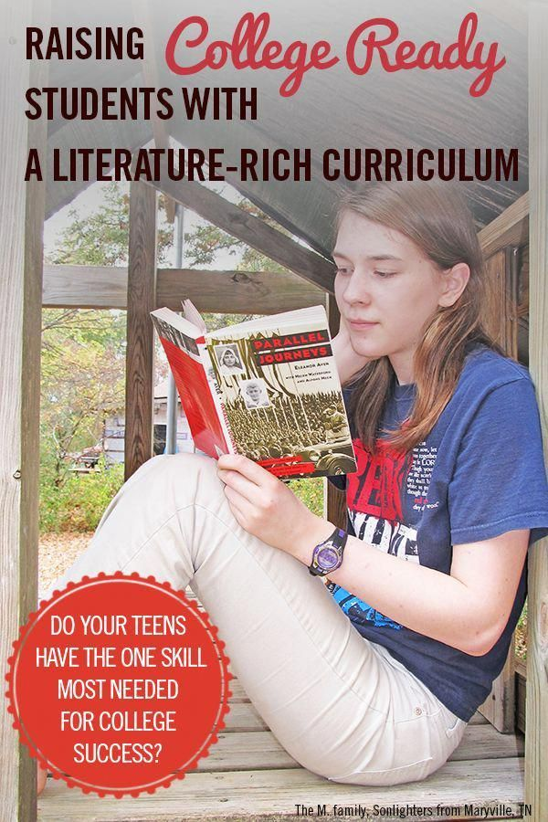 Raising College Ready Students with a LiteratureRich