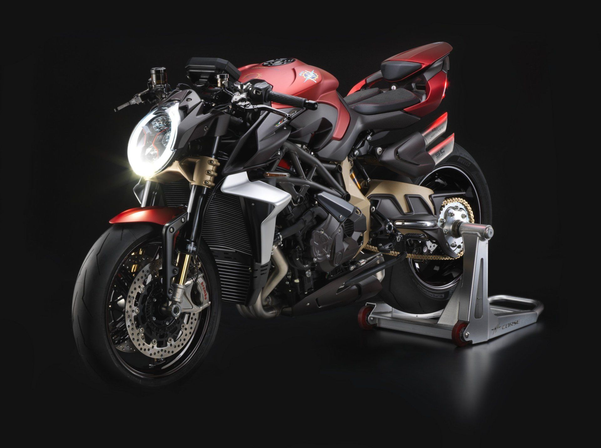 Pin On Motorbike Porn Mv agusta brutale 1000 serie oro