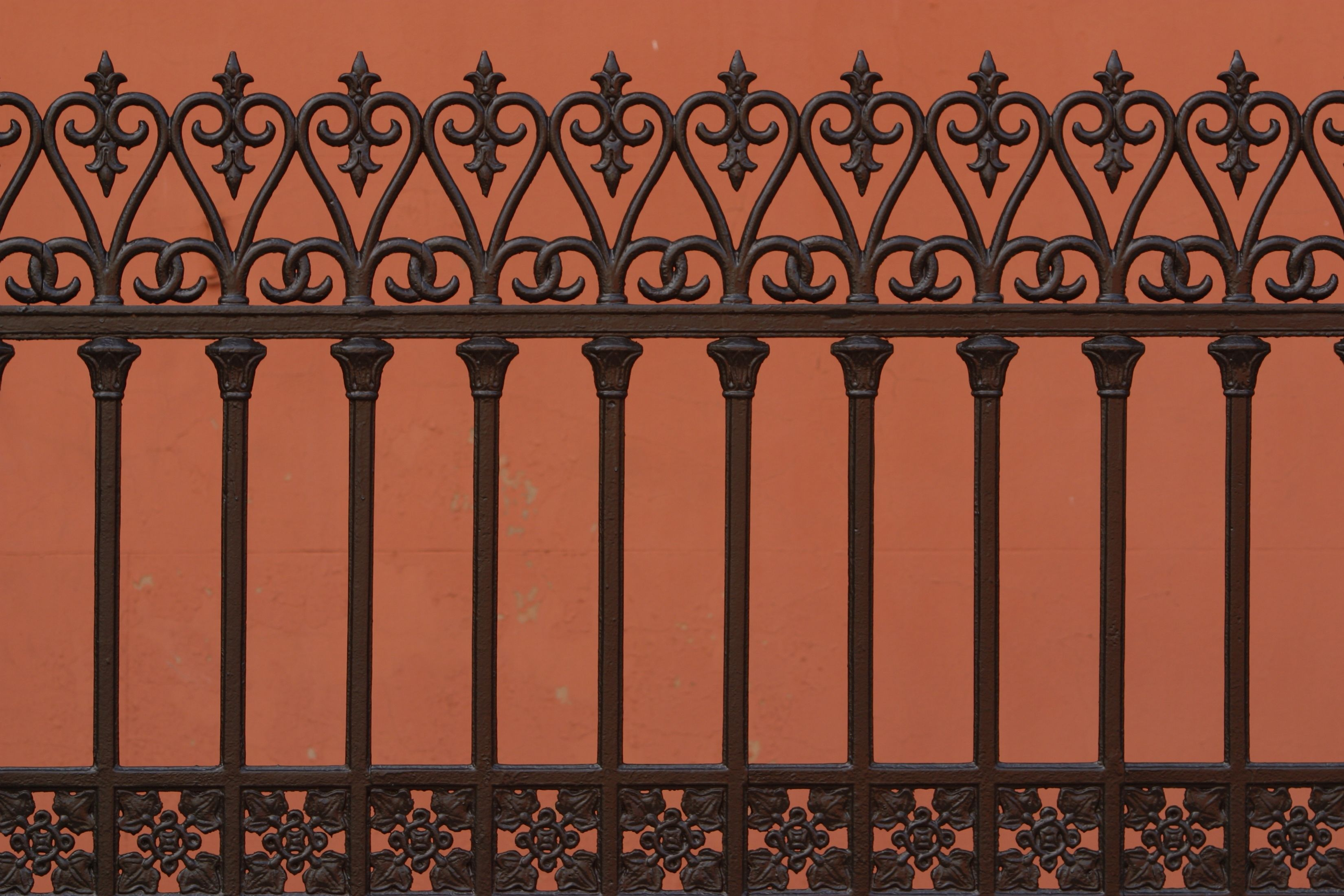 How To Fix Rust Holes In A Wrought Iron Fence With Images