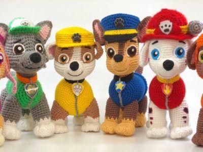 Paw Patrol Crochet Pattern Häkeln Pinterest Croché Ganchillo