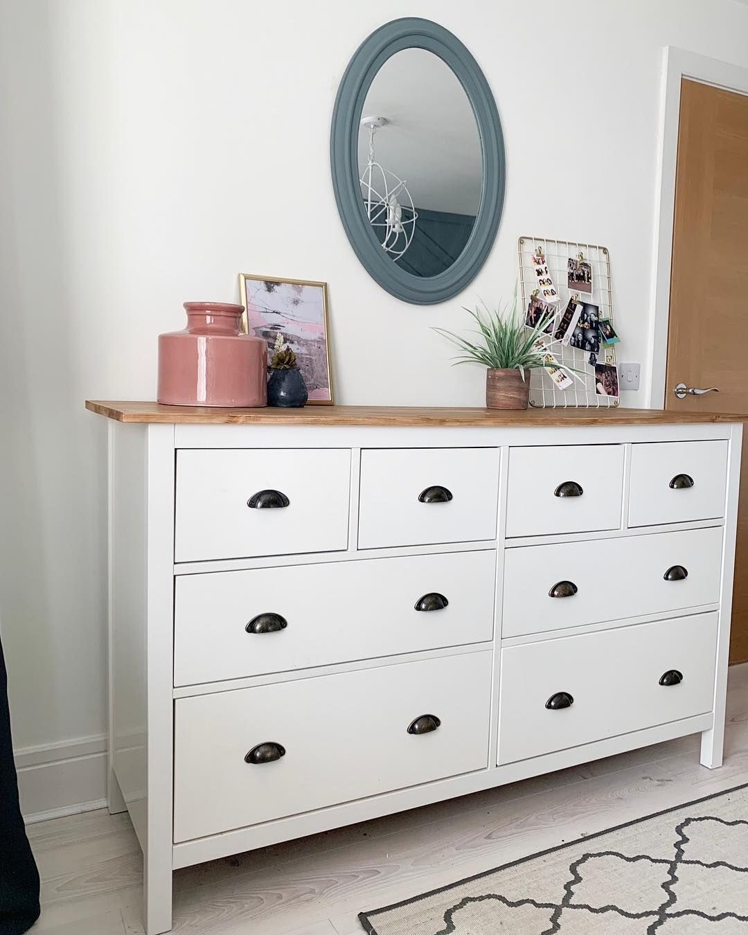 Latest Pic Ruth On Instagram A Saturday Morning Ikea Hack This Is The Shiny White Ik In 2020 Chest Of Drawers Decor Bedroom Chest Of Drawers Ikea Chest Of Drawers