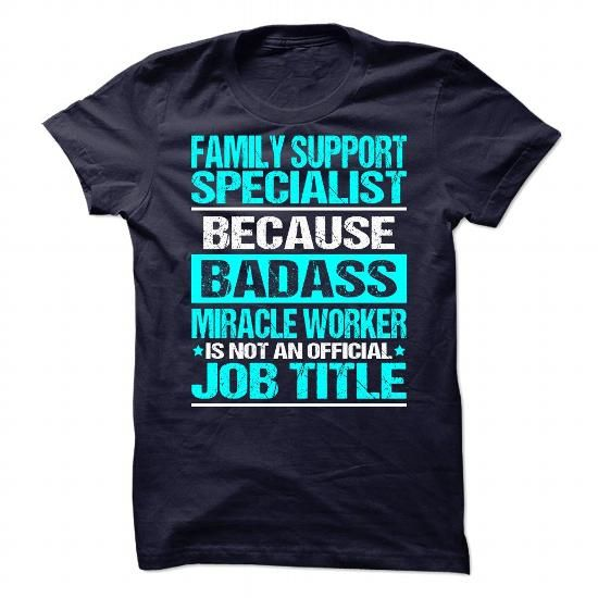 Awesome Tee For Family Support Specialist T Shirts, Hoodies, Sweatshirts