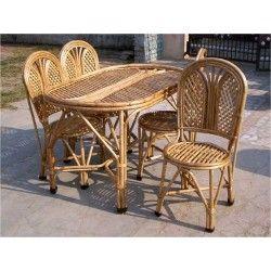 Canediningchairset 250×250  Painted Chairs  Pinterest Prepossessing Cane Dining Room Furniture Decorating Design