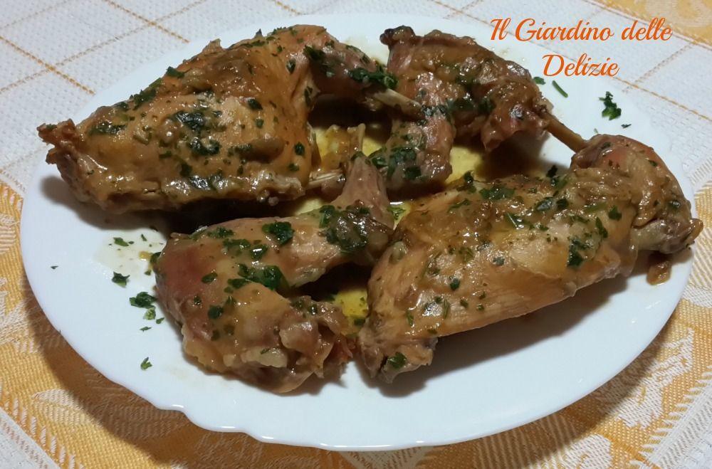 Coniglio aglio e prezzemolo | Anna