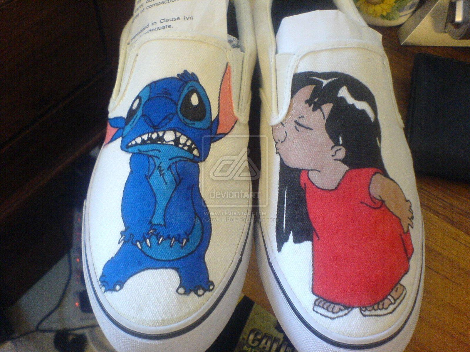 e324fedccae4 Lilo And Stitch shoes by ~Yakawuri-Role on deviantART