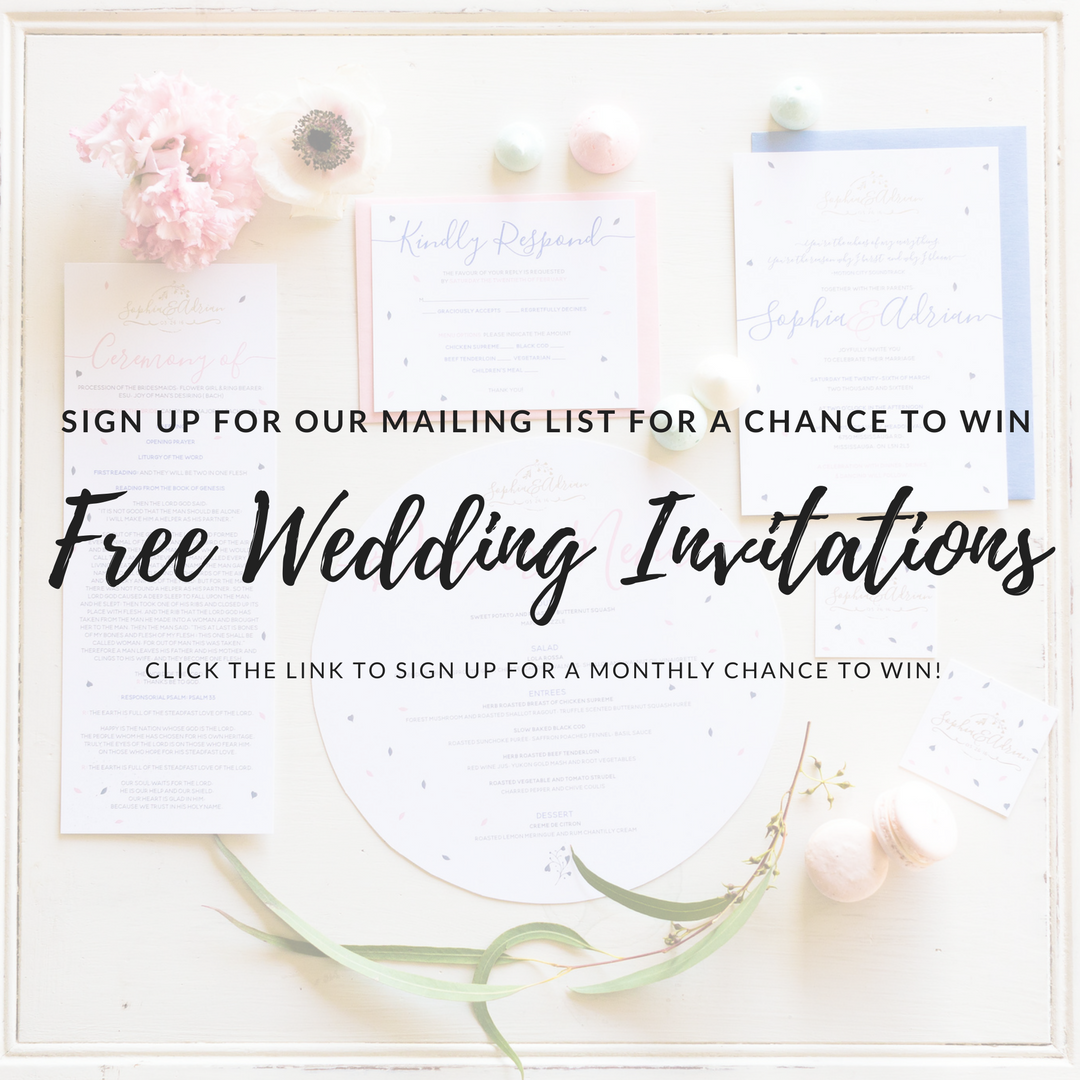 Calling all Toronto and GTA brides! Do you want to win FREE wedding ...