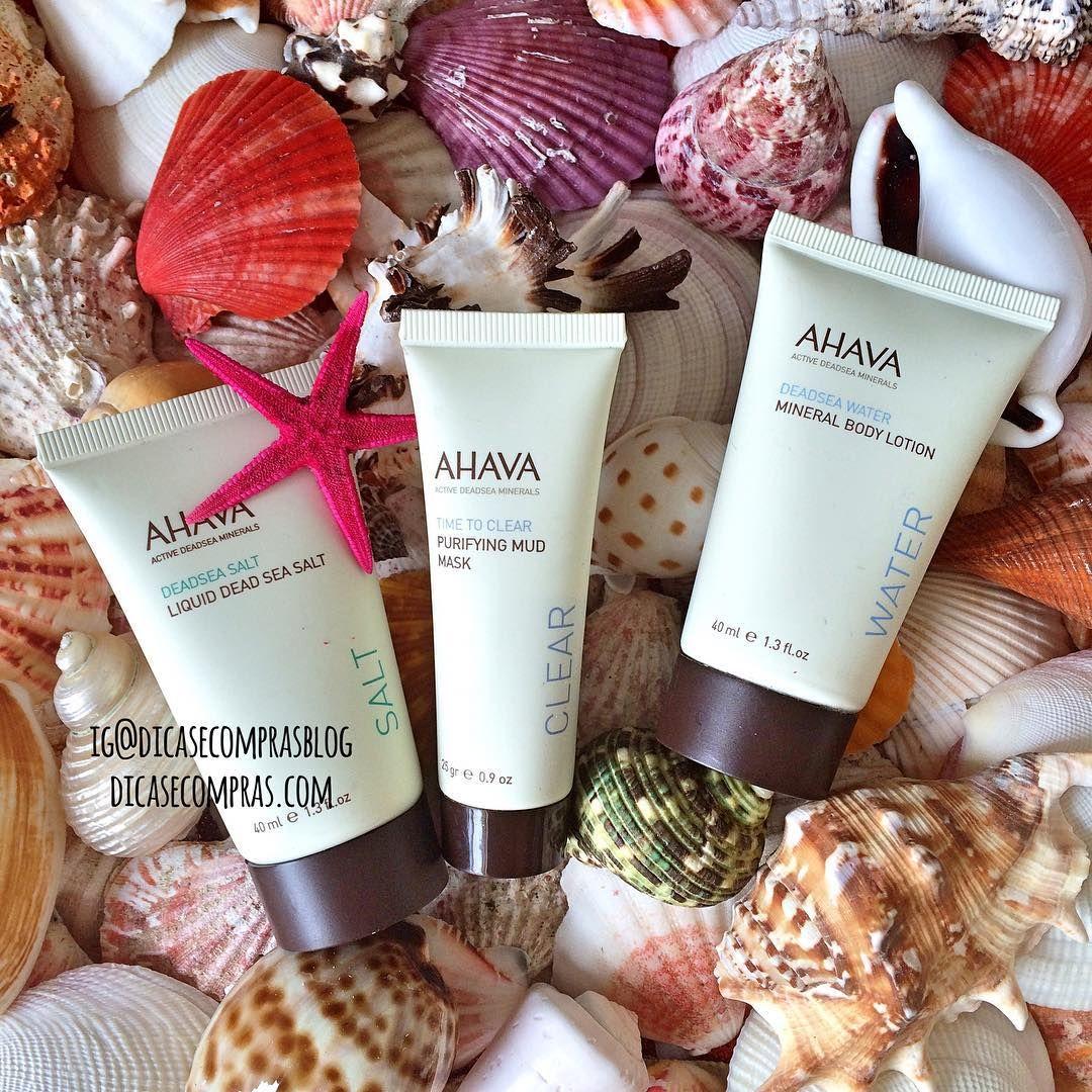"""""""Produtos que também vou resenhar em breve  Products that I'm also reviewing soon #Ahava #cosmeticos #cosmetics #dicasecomprasblog #summer #verao"""""""