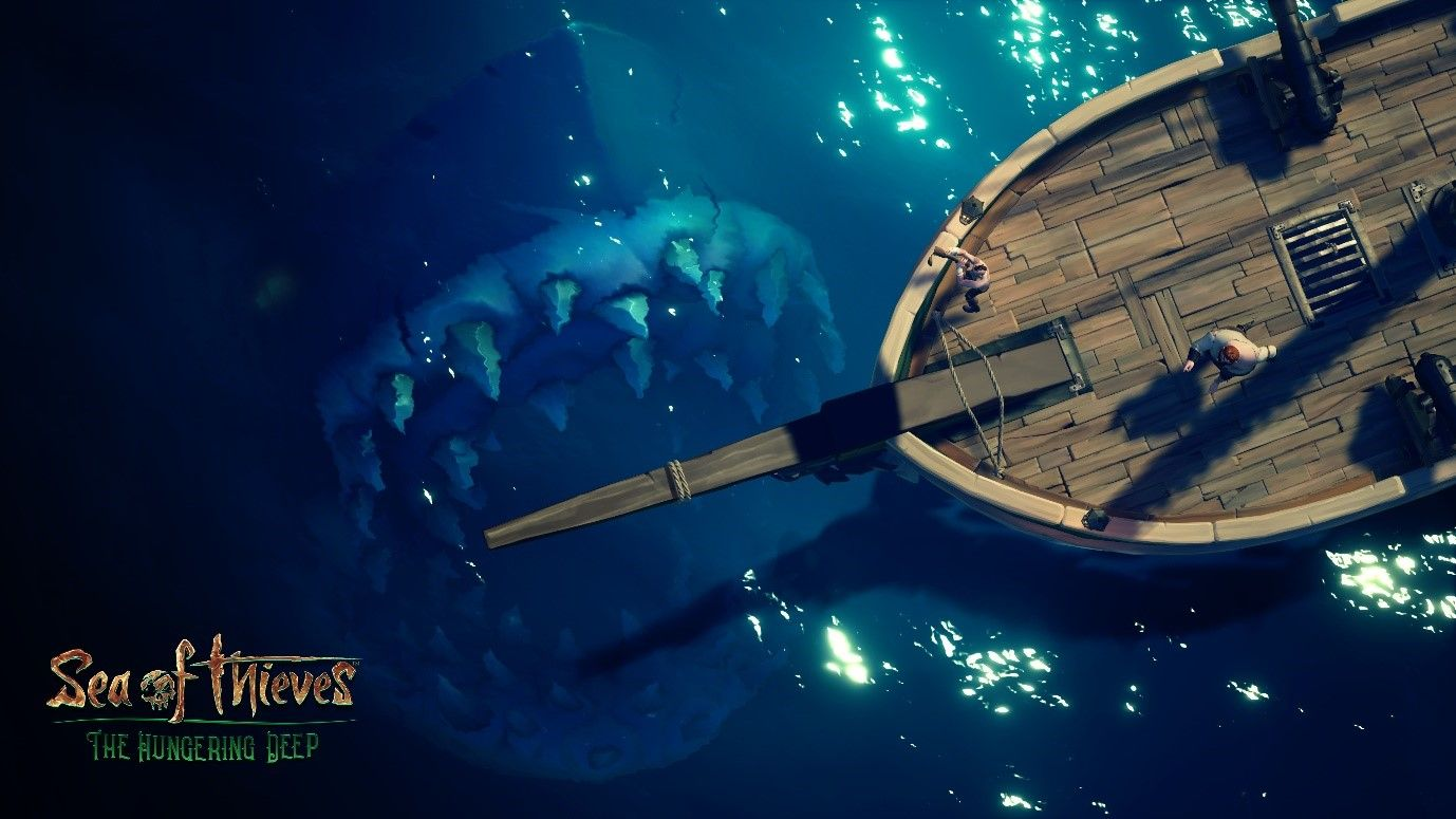 Take A Bite Out Of These Sea Of Thieves Summer Update Sea Of