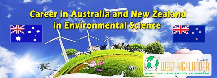 Career in australia and new zealand in environmental