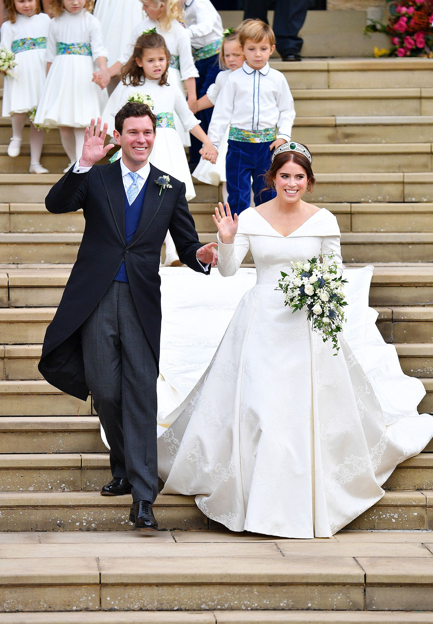 Princess Eugenie and Meghan Markle's Wedding Tiaras Have