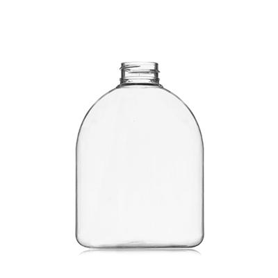 Transparent Pet Oval Plastic Bottles Plastic Bottles Container Bottle