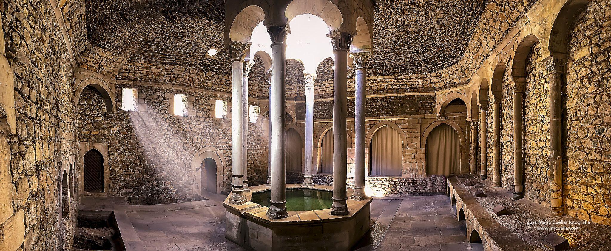 Banos Arabes Girona Construccion Romanica S Xii Inspirada En