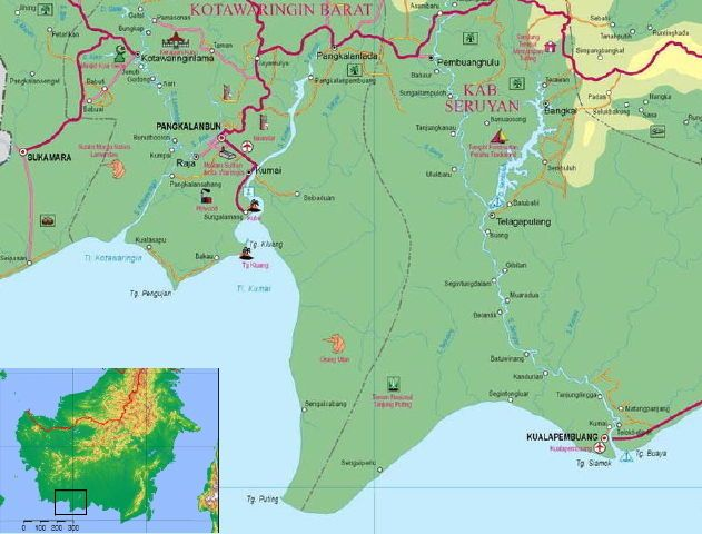 100+ Kumbas Of Way Map National Park Sumatra – yasminroohi on