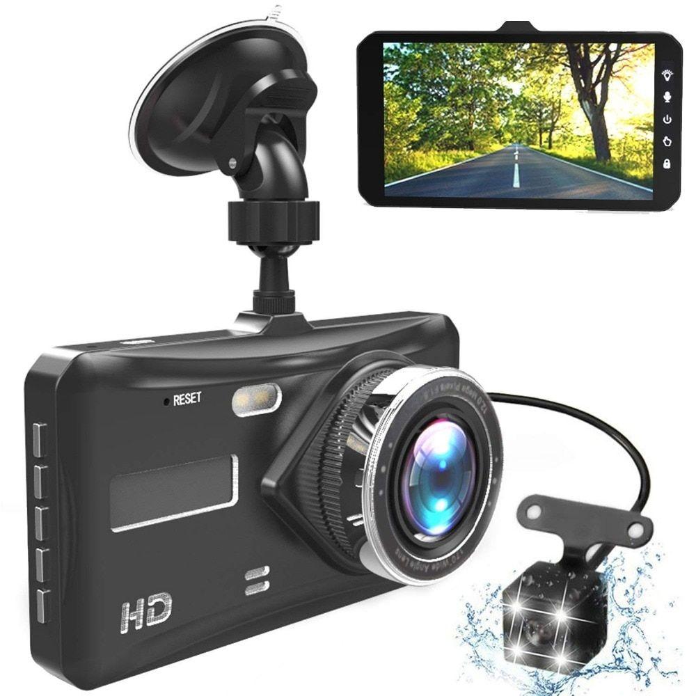 Car dash camera front and rear full hd 1080p night