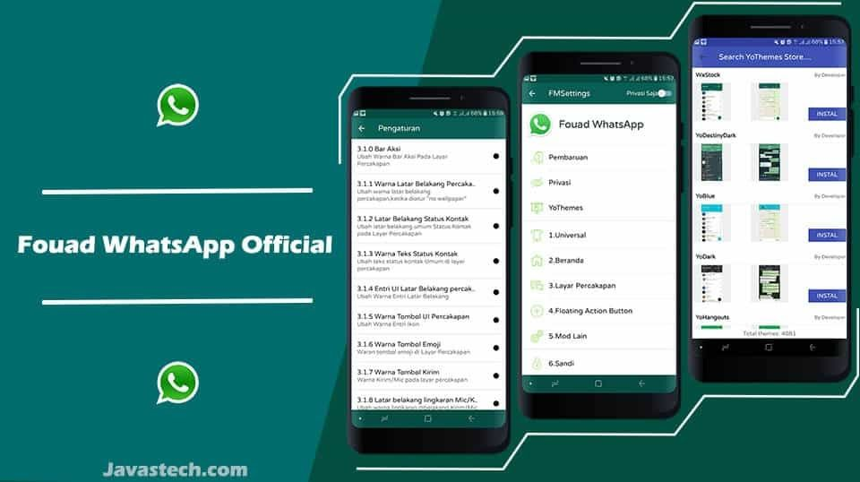 Download Whatsapp Mod Fouad Terbaru di 2020