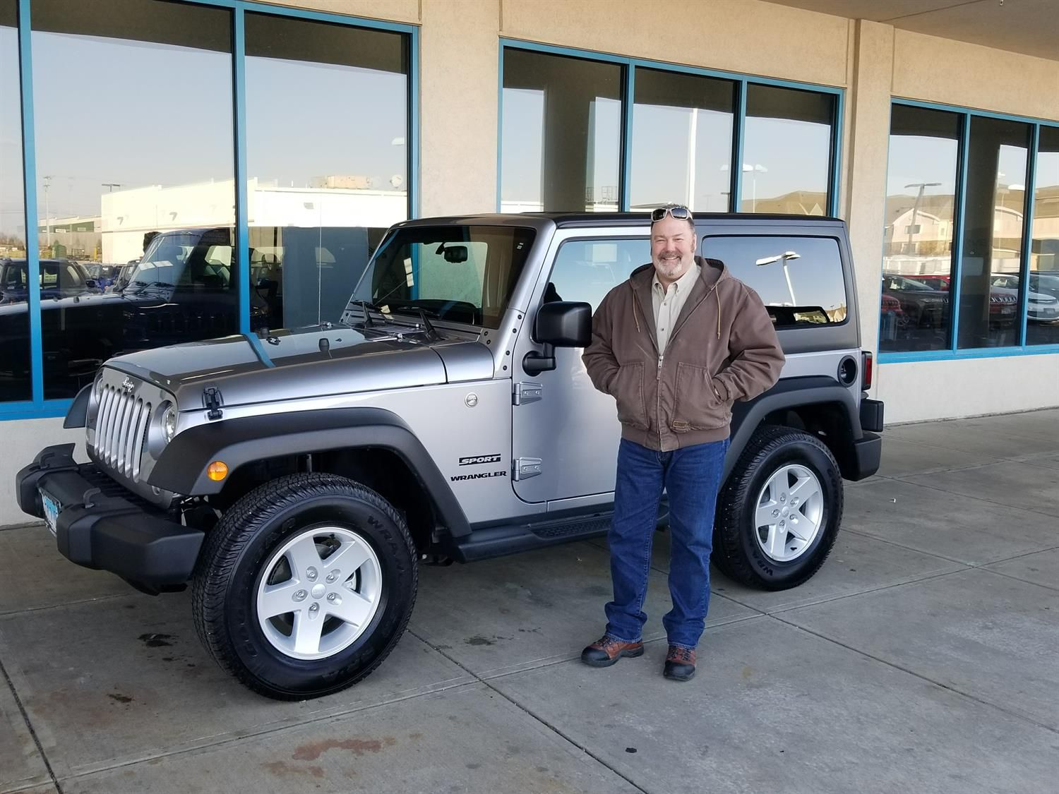 Milt S New 2017 Jeep Wrangler Congratulations And Best Wishes