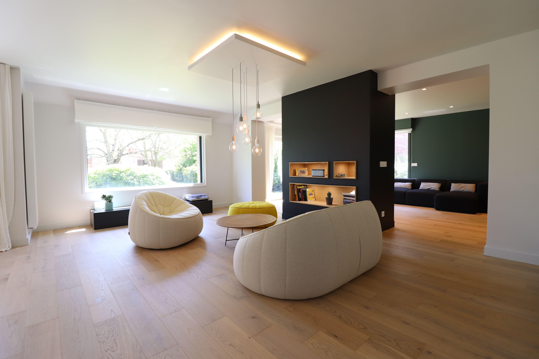 Restructuration Lourde D Un Sejour Deco Maison Interieur