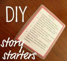 simple WAITING games� Story Starters and I Spy Board