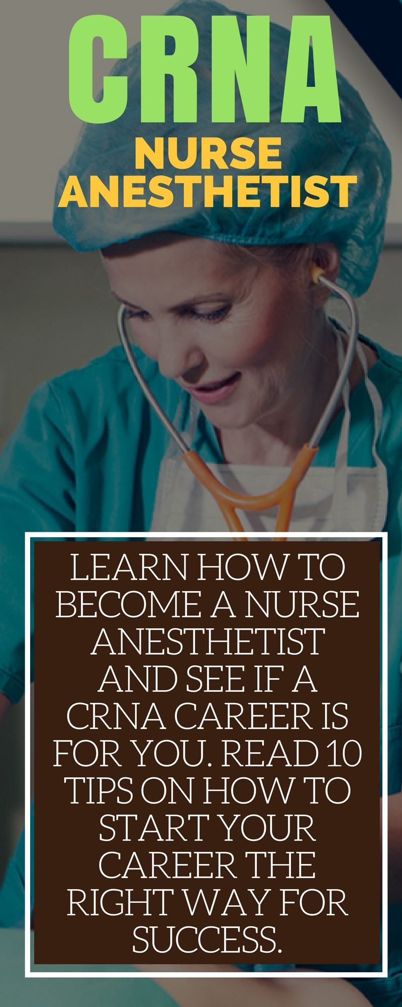 What Is A Nurse Anesthetist How To Become A Crna Salary Education Career Info Nurse Anesthetist Nursing School Prerequisites Online Nursing Schools