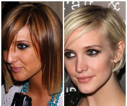 Ashlee Simpson nose job before afterdeck picture on left Looks - jobs that are left