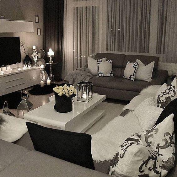 gem tliches wohnzimmer benuta teppich interior home living pinterest gem tliche. Black Bedroom Furniture Sets. Home Design Ideas