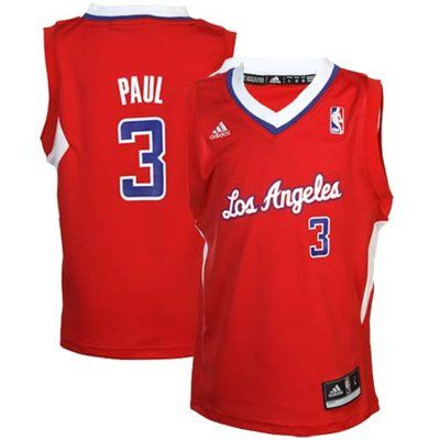 6f731bbca919 Preschool Los Angeles Clippers Chris Paul adidas Red Replica Road Jersey