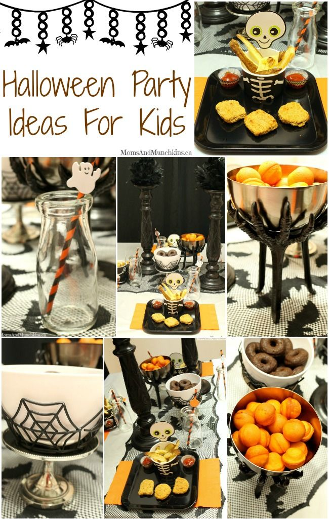Marvelous Kids Dinner Party Ideas Part - 8: These Fun Halloween Party Ideas For Kids Are All Easy To Put Together With  The Right