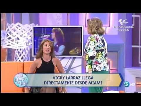 """Vicky Larraz -Entrevista en Televisión.Agosto 2014 """"Que Tiempo tan Feliz"""""""