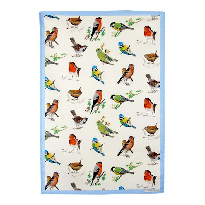 Garden Birds Viskestykke B48 x H70 cm. #Fugle #SPB #Smagpåbordet