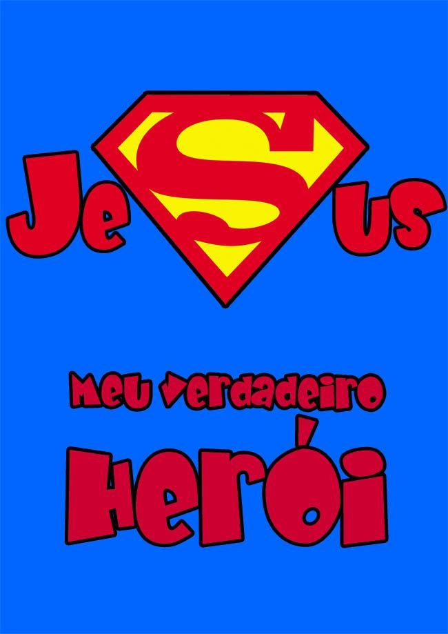 2afc4845b Recursos para Ministério Infantil  EBF - O maior super-herói do mundo (3  dias)