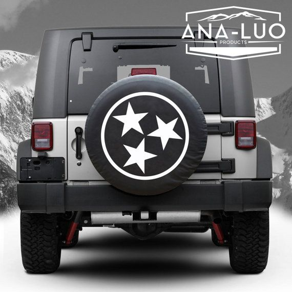 Tennessee Tri Star Tire Cover Wrangler Any State Avalible Tire