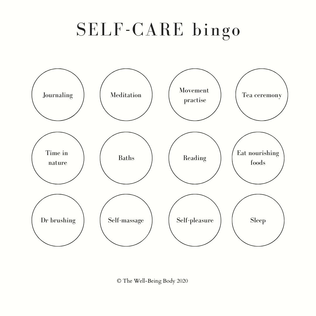 Self Care Rituals In