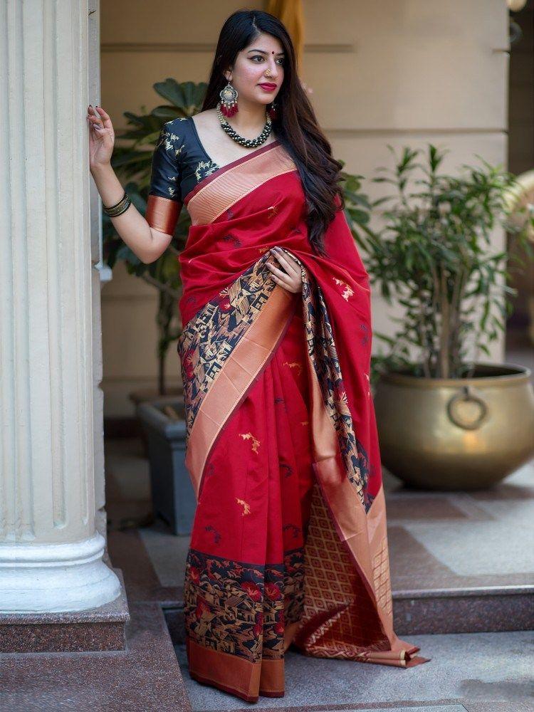 f0493d2482 mannat silk latest designer saree for wedding | Ethnic Export ...